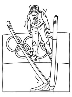 11382.gif 600×800 pixels Olympic Idea, Olympic Sports, 2018 Winter Olympics, Winter Olympic Games, Colouring Pages, Coloring Sheets, Early Years Topics, Gold Class, Kids Church