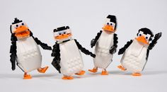 https://flic.kr/p/qym2D7 | Penguin Time! | I am a big fan of Penguins from Madagascar, and since I was looking for a break from planes, I thought: why not build them? To support: ideas.lego.com/projects/92191