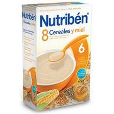 NUTRIBEN Papilla 8 Cereales con Miel 600g