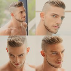 Do not just grow a short beard, rather use it to enhance your personality and manly look. Here are 70 most popular and trendy short beard styles you can try. Frizzy Short Hair, Short Hair Cuts, Short Hair Styles, Thinning Hair, Military Haircuts Men, Haircuts For Men, Men's Haircuts, Military Fade Haircut, Beard Styles For Men