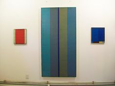 Steven Alexander is an American artist who makes abstract paintings  characterized by luminous color, sensuous surfaces, and iconic geometric configurations.