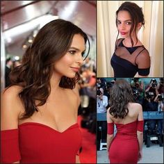 "Pin for Later: How to Get Instagram-Worthy Hair Anh's Work on Emily Ratajkowski Model/actress Ratajkowski went from ""Blurred Lines"" video model to Andie in David Fincher's Gone Girl."