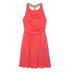 Mini chiffon dress with pleats Chiffon Dress, My Style, Collection, Dresses, Fashion, Chiffon Gown, Gauze Dress, Gowns, Moda