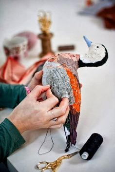 Abigail Brown Beautiful Hand-Stitched Birds