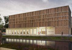 Stadsarchief Delft - ontwerp Office Winhov i.s.m. Gottlieb Paludan Architects