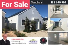 TOWNHOUSE FOR SALE IN A SECURE COMPLEX Built by a reputable developer for the discerning buyer at no transfer duty, this home is situated in the Sundew Villas security complex which has a communal swimming pool, dog park, and play area for kids. It is next to Curro Private School, close to the Whale Coast Mall and just off the R43. The house comprises an open plan kitchen, dining room and lounge two sizable bedrooms...#CCH #westerncape #sandbaai #familyhome #2bedroom #hermanusproperties Open Plan Kitchen, Kitchen Dining, Dining Room, 2 Bedroom House, Dog Park, Private School, Villas, Townhouse, Mall