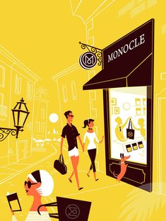 I admit I subscribe to Monocle. I know that makes me automatically a tool. Lab Partners for Monocle.