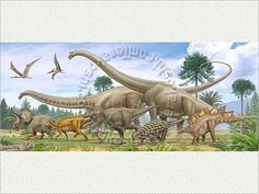 Dinosaur panorama 7