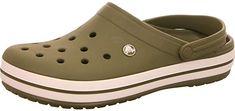 Original Crocs direkt von Amazon  Alle Crocs Schuhe werden auf einzigartige Weise aus unserem patentierten geschlossenzelligen Kunstharzgemisch Croslite hergestellt. Durch diese Technologie wird jeder Schuh so anschmiegsam, bequem, farbecht und leicht, wie Crocs Kenner es erwarten und lieben. Bitte setzen Sie Ihre Crocs nicht extremer Wärme oder intensiver Sonneneinstrahlung aus. Hohe Temperaturen können das Crocs PCCR Material, aufgrund seiner speziellen Eigenschaften, schädigen. Crocs… Clogs, Material, Sandals, Fashion, Technology, Crocs Shoes, You're Welcome, Summer, Lawn And Garden