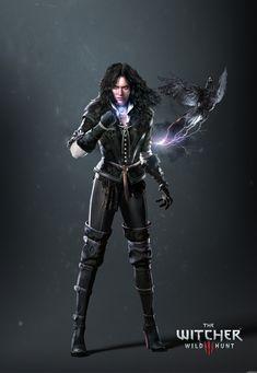 Ultra-high resolution artwork picture of Yennefer of Vengerberg (Yen)  Source: http://www.gamersyde.com/pop_images_the_witcher_3_wild_hunt-26675-1.html