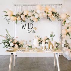 Wild One Backdrop Sign – Laser Cut Acrylic First Birthday Wall Decor with Crown accent, Childrens Nursery Bedroom Sign, Boys Birthday Sign – Baby Shower İdeas 2020 Birthday Wall, Wild One Birthday Party, 1st Birthday Girls, Baby Party, Birthday Backdrop, Kids Birthday Party Ideas, Baby Girl Birthday Decorations, Vintage First Birthday, Classy Birthday Party