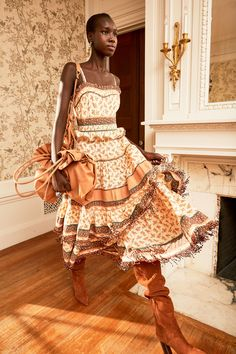 Ulla Johnson Pre-Fall 2020 Fashion Show - - Ulla Johnson Pre-Fall 2020 Collection – Vogue Source by fashionvignette 2020 Fashion Trends, Fashion 2020, Runway Fashion, Vogue Fashion, Woman Fashion, Dress Outfits, Fall Outfits, Dresses, Copenhagen Fashion Week