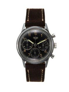 Vintage Watches Heuer Chronograph Watch (c. 1950)