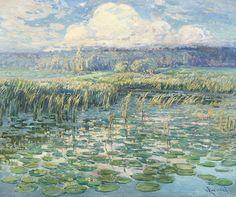 Václav Radimský (Czech, 1867-1946),Windy day, 1900-05. Oil on canvas, 80 x 100 cm.