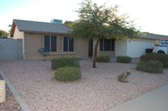Wonderful 3 Bed, 2 Bath, 2 Car Garage home in Chandler! NO HOA!!! The home features a living room and separate family room. New interior paint November 2016.