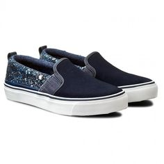 Tenisky PEPE JEANS - Alford Moon PLS30398 Navy 595 Pepe Jeans, Vans Classic Slip On, Sneakers, Model, Shoes, Fashion, Trainers, Moda, Zapatos