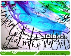 fun new art journal website for me to explore. plus this page is beautiful