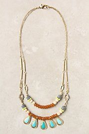 Five Tears Neckalce - Anthropologie