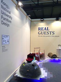 SaloneSatelite 2015 Milano Kongju National University Furniture Design Booth