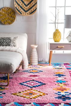 Rugs USA - Area Rugs in many styles including Contemporary, Braided, Outdoor and Flokati Shag rugs.Buy Rugs At America& Home Decorating SuperstoreArea Rugs Pink Shag Rug, Plush Area Rugs, Hippie Look, Shaggy Rug, Tadelakt, Rugs Usa, Design Moderne, Interior Exterior, Boho Decor