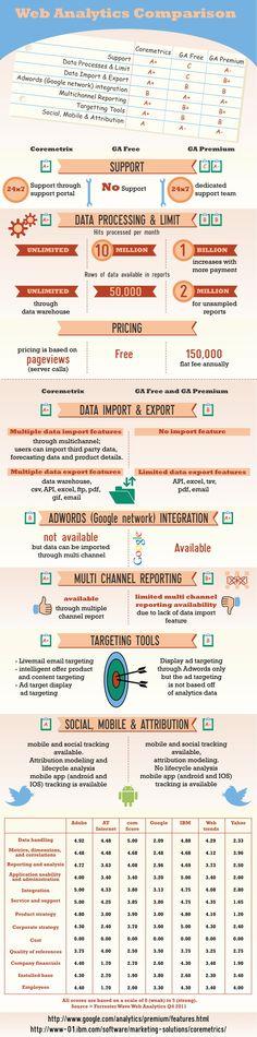 IBM Coremetrics vs. Google Analytics