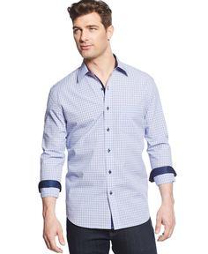 Tasso Elba Amok Check Shirt