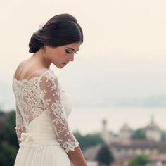 Royal Wedding Inspiration with Spectacular Views of Northern Italy (Photos by | Fotografa Matrimonio)