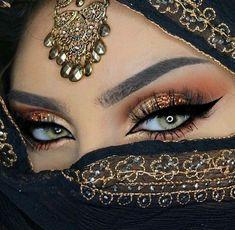 I love your lokk arabic eyes, cool eyes, pretty eyes, arab makeup, Arabian Eyes, Arabian Makeup, Arabian Nights, Exotic Makeup, Beauty Makeup, Gypsy Makeup, Unique Makeup, Makeup Style, Glamorous Makeup