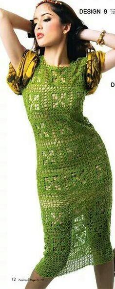 ₩₩₩ crochet dress