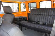 Toyota FJ40 restored İnterior