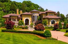 """Sater Design's """"Fiorentino"""" 6910 home plan as built by a customer....."""