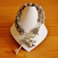 Labradorite bracelet 3 by jarka on Etsy, $34.00