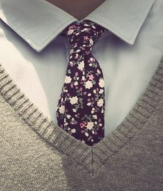 Tie! #pretty #tie #foral #work