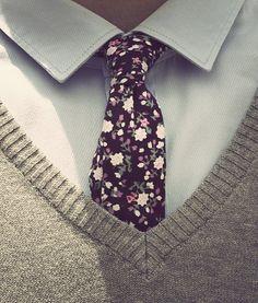 Tie! #pretty #tie #foral #work