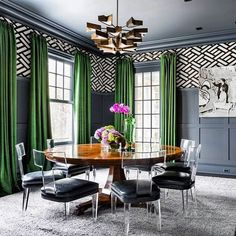 WOW!!!!!!!!! Artistic Frame: Model 6902: The Acrylic Klismos Dining Chair. Interior Design by Alisberg Parker Architects @alisbergparker ... Dining Chairs by @artisticframe #InteriorDesign #DiningRoom #DiningChair #acrylic