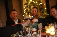 Corporate Holiday Party at The Mountain Winery!  Where: Grand Hall at The Mountain Winery, Saratoga CA.