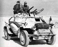 Germany's Leichte Panzerspähwagen (2cm) (SdKfz 222), Libya 1941