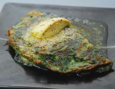 Atta Pancake with Lemon Butter