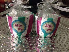Obsequio especial Alfajoy Alfa Alfa, Joy, Being Happy