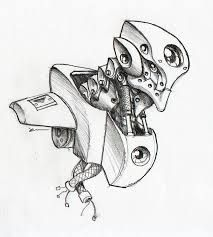 Image Result For Drawings Of Cool Robots With Images Sketches