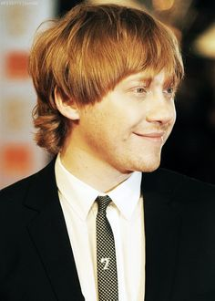 """""""I know I could use my fame to meet women and I definitely notice a lot more attention when I go out because of it. But I'm still a bit careful. I don't want to meet a girl who's specifically trying to take advantage of that. And I try not to Google myself because I'd find the results too uncomfortable."""" -Rupert Grint"""