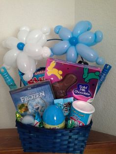Frozen Easter Baskets