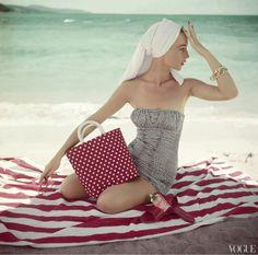 Vintage swimsuit.