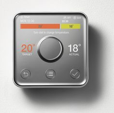 El nuevo termostato Hive rivaliza en aspecto e inteligencia con el de Nest   The new thermostat Hive rivals in appearance and intelligence with Nest   #IoT #HomeAutomation #Hive #Thermostat