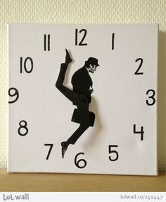 Monty Python Ministry of Silly Walks clock!