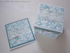 Little-Miss-Sophie : Hochzeitsgeschenk Explosion box stampin up!