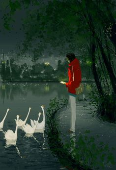 Bitter ending by Pascal Campion - Illustriations by Pascal Campion  <3 <3