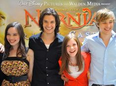 Anna, Ben, Georgie, and Will