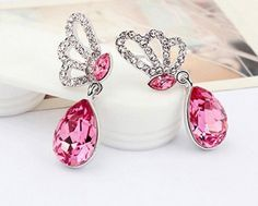 $10 for a Beautiful Necklace & Earring Set Embedded with Brilliant Cut Swarovski Elements