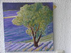 """""""Baum im Lavendelfeld"""" von Emo Schuschnig"""